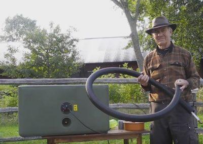 Heated hose